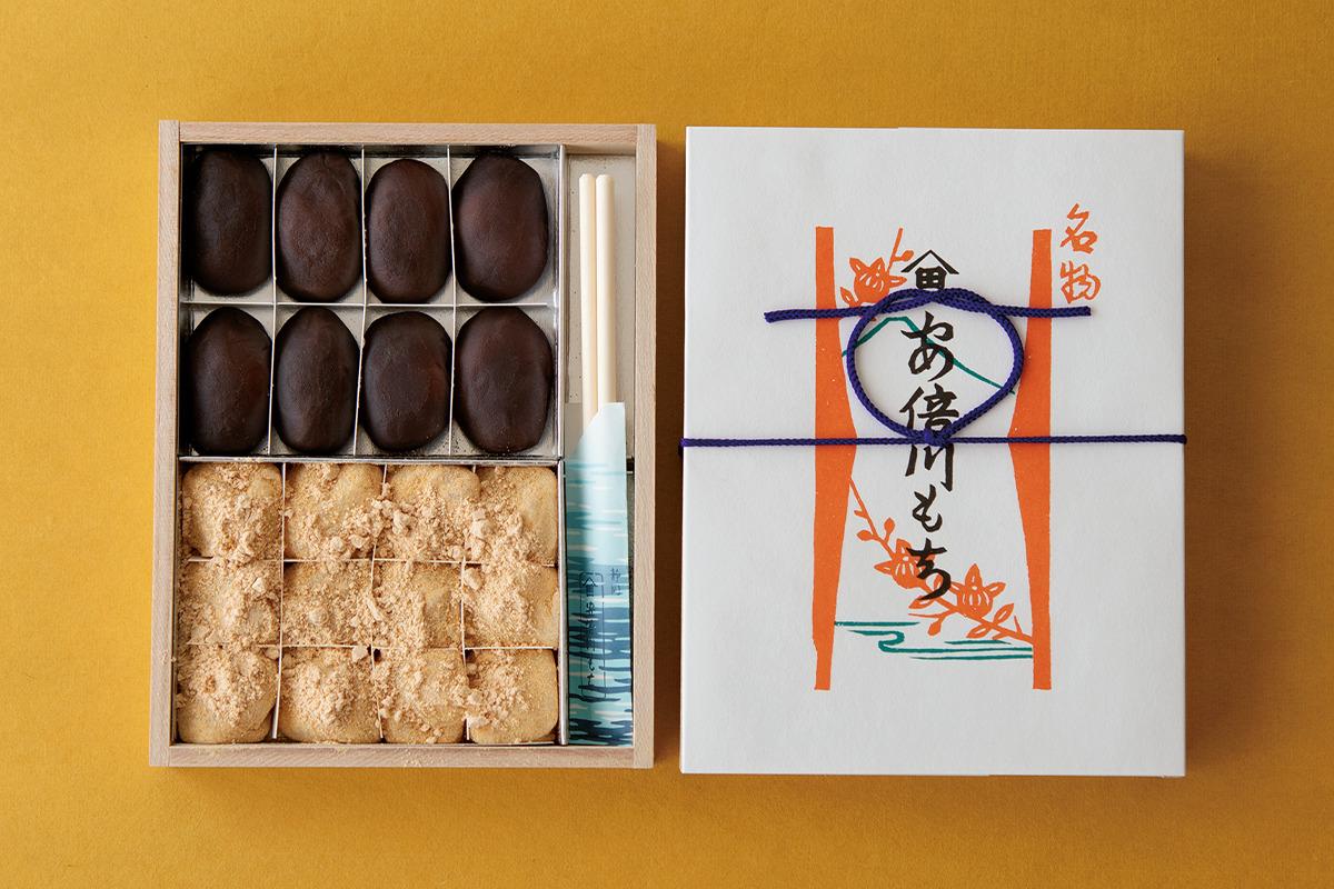 江戸時代から静岡のお土産として愛されてきた、やまだいちの「安倍川もち」<br><small>福田里香の民芸お菓子巡礼</small>