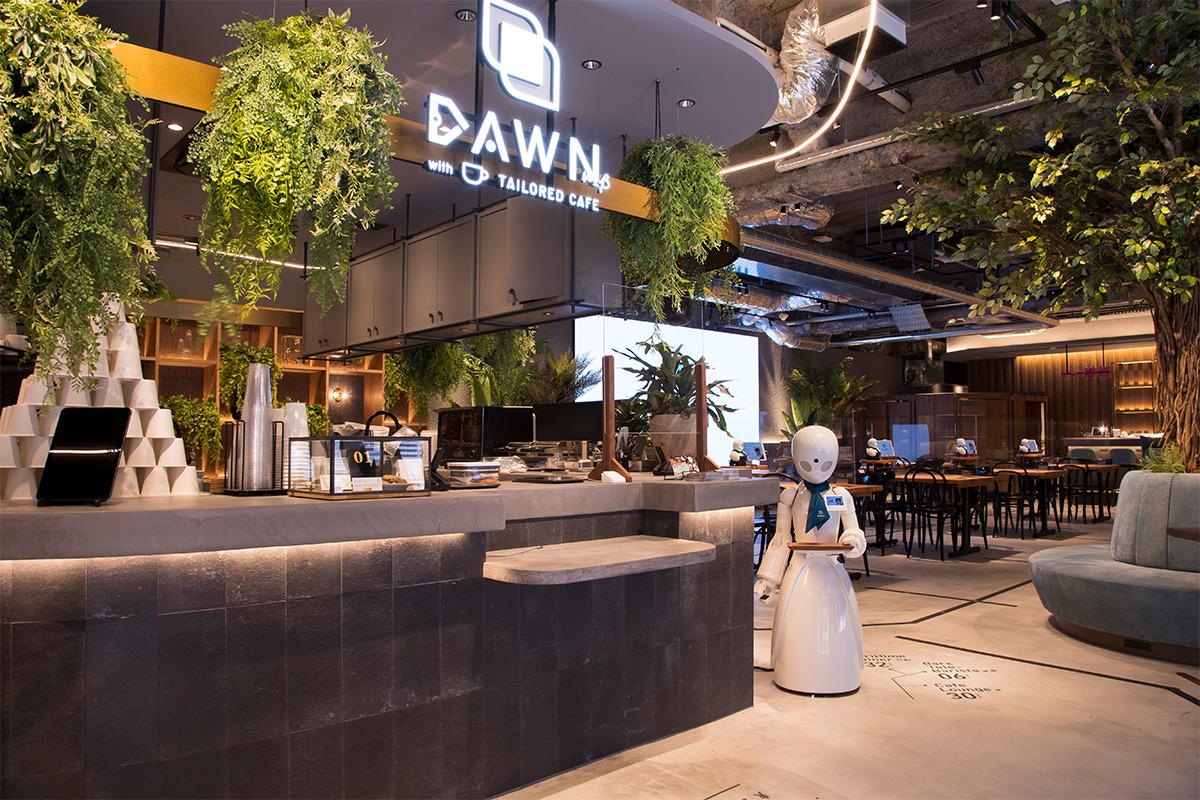 「分身ロボットカフェ DAWN ver.β」<br><small>日本橋に現れた分身ロボットOriHimeの近未来なおもてなし</small>