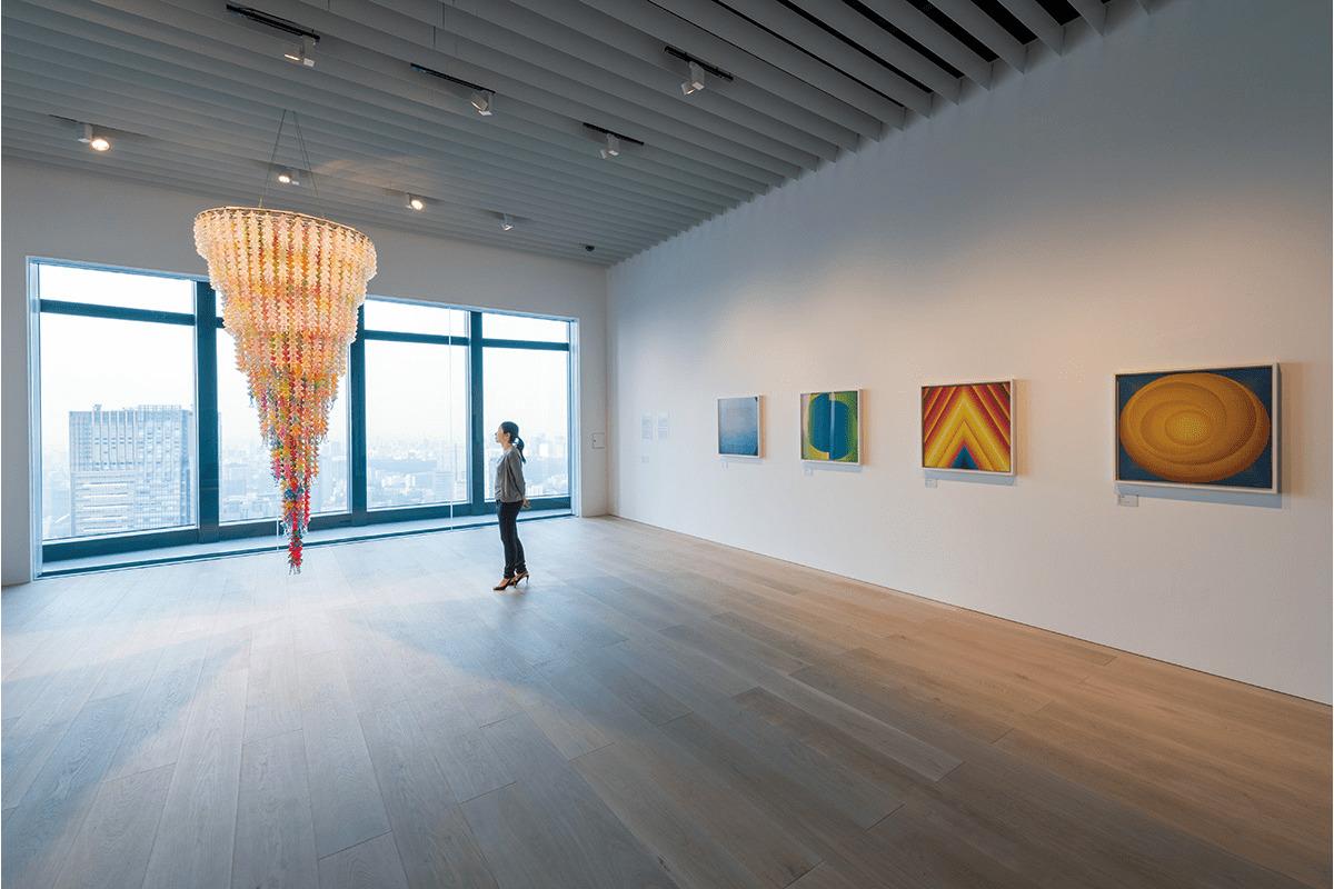 森美術館<br>「現代アートを中心とする、斬新な企画展に注目」