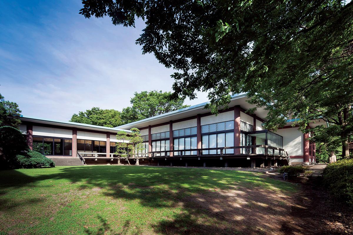 五島美術館<br>「寝殿造りの美術館にずらりと並ぶ名作」