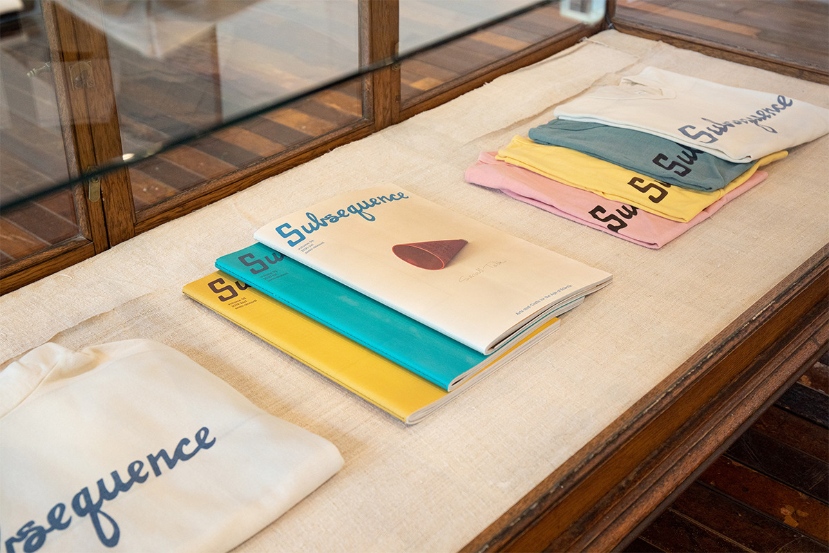 visvimが手掛ける雑誌『Subsequence』の第4号を発売!<br><small>「visvim」表参道にて工芸品やアート作品の展示・販売イベントも開催中</small>