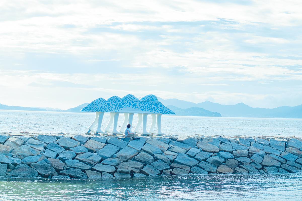 """男木島でかなえる  """"島ワーケーション""""【前編】<br><small> 香川で仕事も遊びも、旅も暮らしも。</small>"""